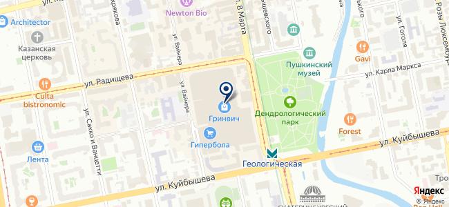 Энергия на карте