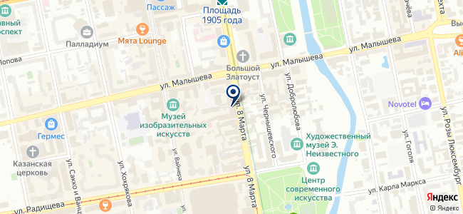 Центр инновационных решений, ООО на карте