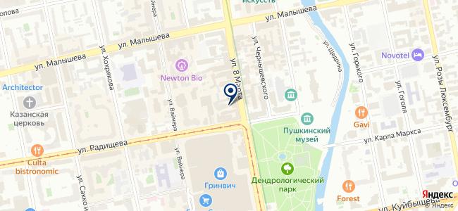 Урал Лэд, ООО на карте
