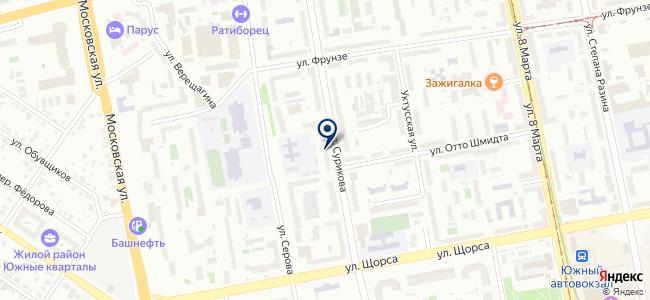 Электротехнический центр на карте