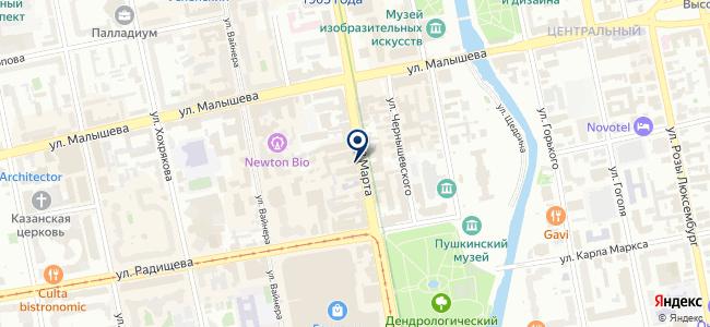 КомЭлектро на карте