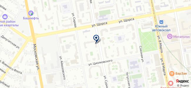 ДСА-Урал, ООО на карте
