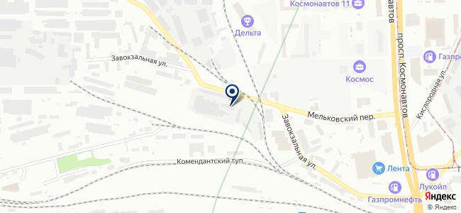 ЮИК на карте