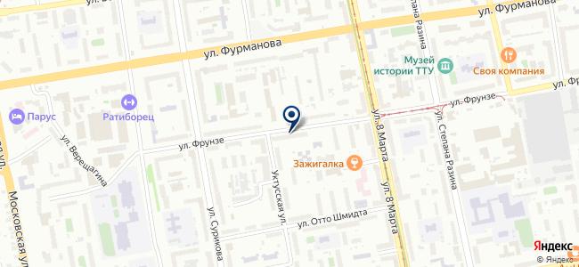 Kraftman на карте