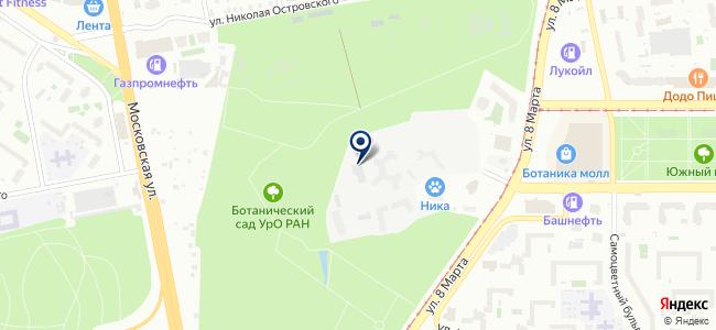 Зенон-Екатеринбург, ООО на карте