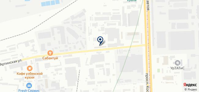 ЭКС-Технологии на карте