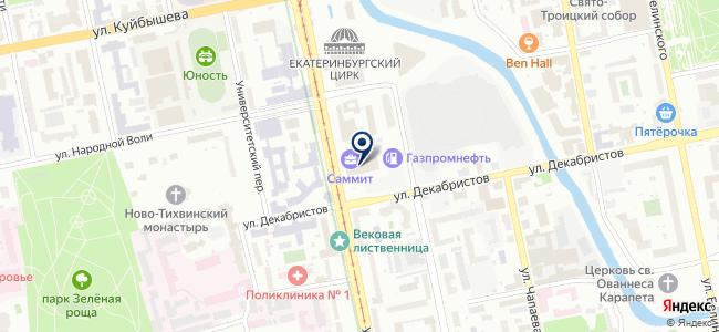 Rohde & Schwarz на карте