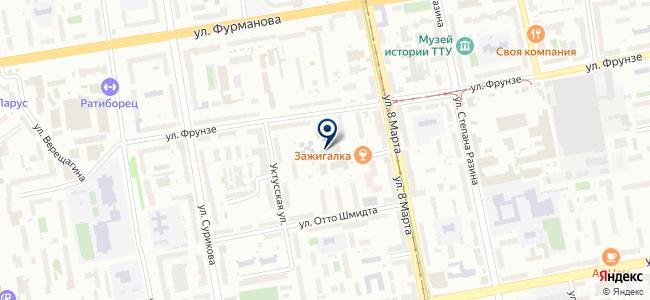 Магазин радиодеталей на ул. 8 Марта, 122 на карте