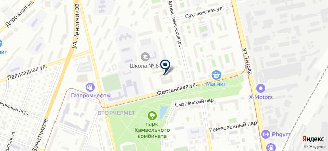 Amelta.ru на карте