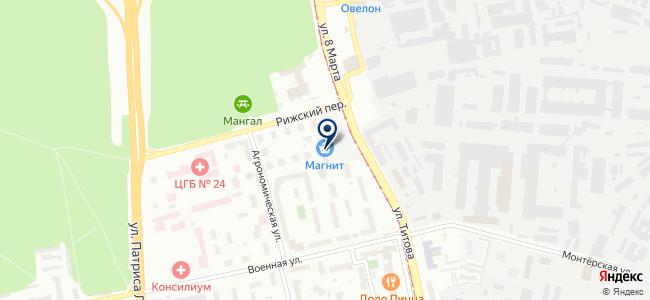 Крепеж-Сити на карте