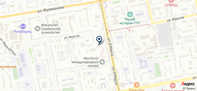 АПЕКС-Екатеринбург, ООО на карте