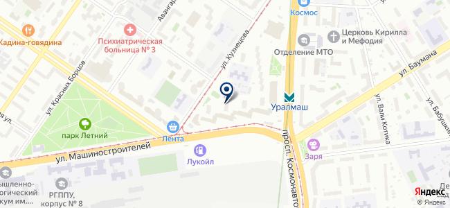 Термотех, ООО на карте