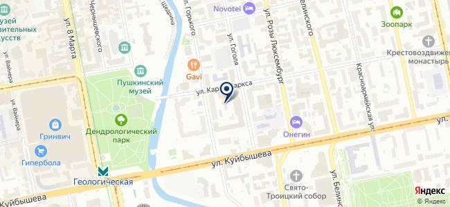 ПромСнабУрал, ООО на карте