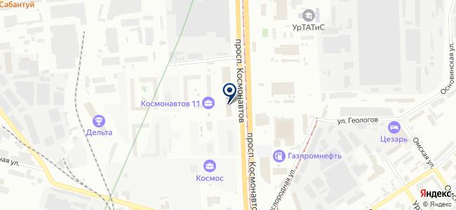 Технопровод, ООО на карте