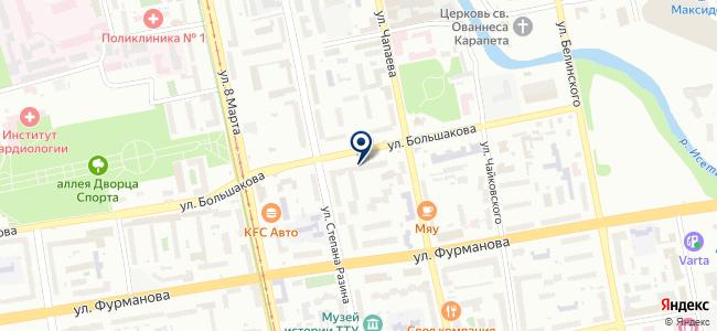 СветПроектСервис, ООО на карте