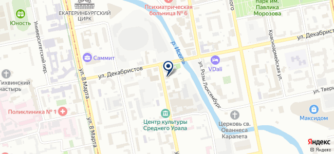 Электрик Спейс на карте