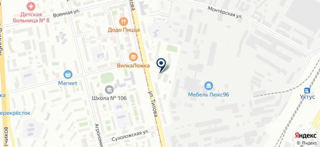 Сонет Текнолоджис Екатеринбург, ООО на карте