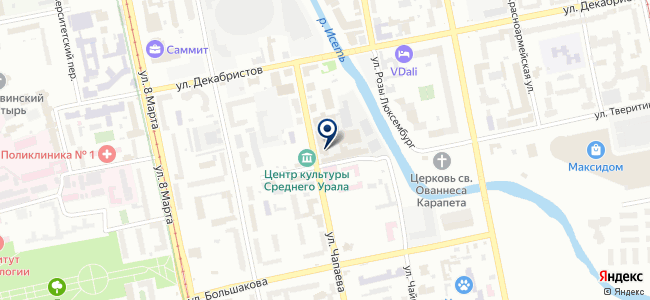 АвтоФорс на карте