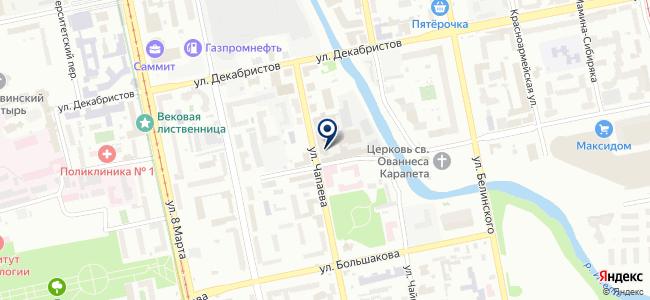 ЭДС-проект, ООО на карте