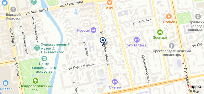 МЕХАНИКА УРАЛА, ООО на карте