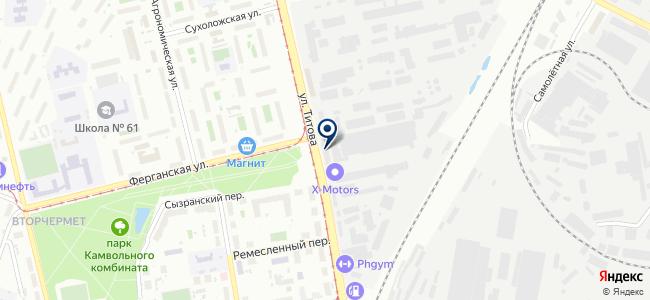 Ледкрафт, ООО на карте
