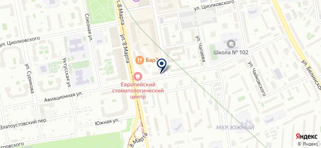 Метрика-Екатеринбург, ООО на карте