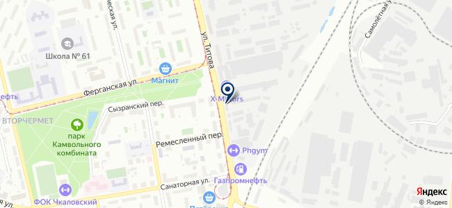 ЭТУС на карте