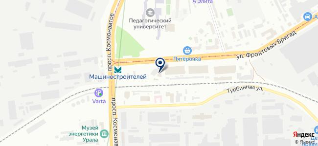 Мастерская света, ООО на карте