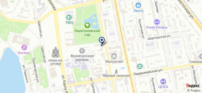 Светодиодные технологии, ООО на карте
