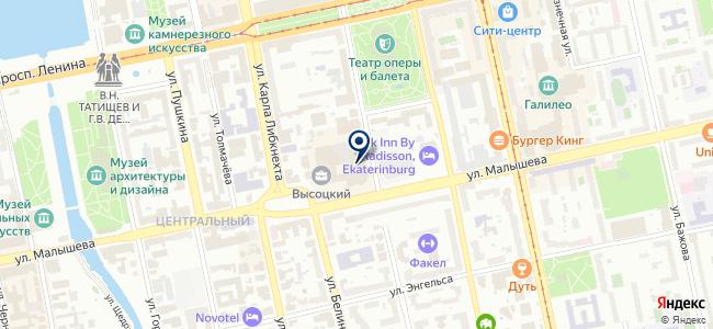 Легион-Комплект на карте