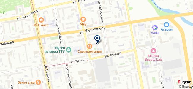 Уралстройэнергомонтаж, ЗАО на карте