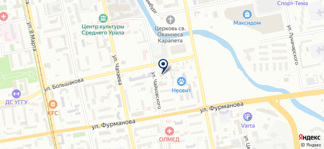 МИДА, ООО на карте