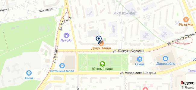 Квант-ЭМ на карте