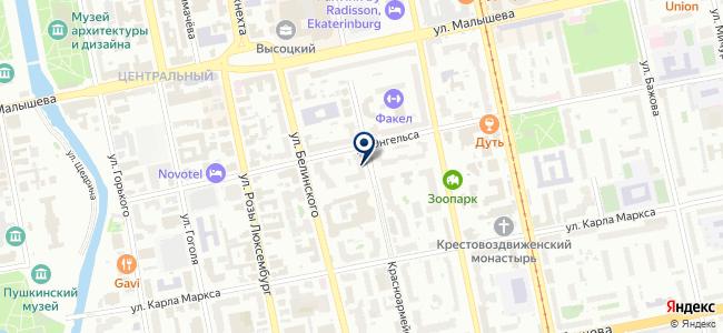 Электромонтаж66 на карте