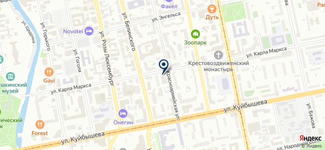 Трансэнергопроект, ЗАО на карте