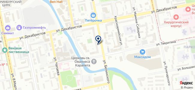 Артстройурал, ООО на карте