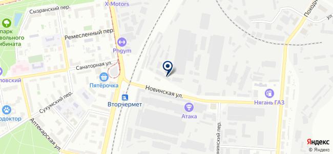 Радар, ООО на карте