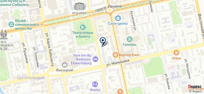 Сенсорика, ООО на карте