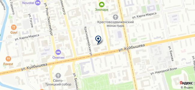 Water96.ru на карте