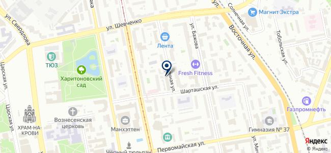 Электроуралмонтаж, ОАО на карте
