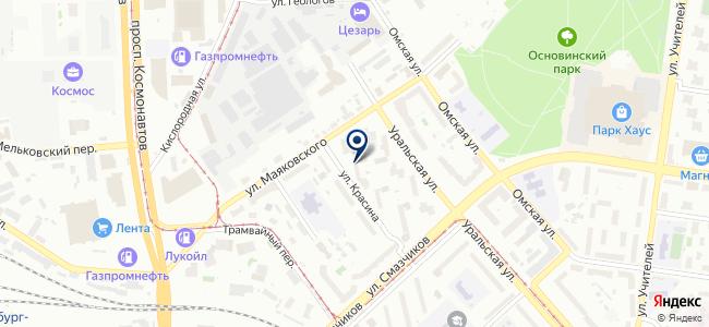 Ультра Максима на карте