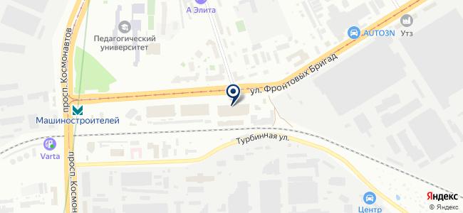 Энергоцентр-ЕК, ООО на карте