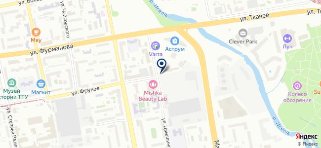 Атака, ООО на карте