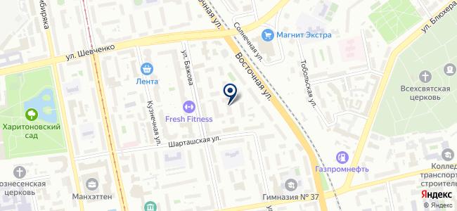 Уралпромтехцентр, ООО на карте
