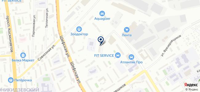 Центр энергосберегающих технологий, ООО на карте