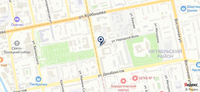 Урал Технопром, ООО на карте
