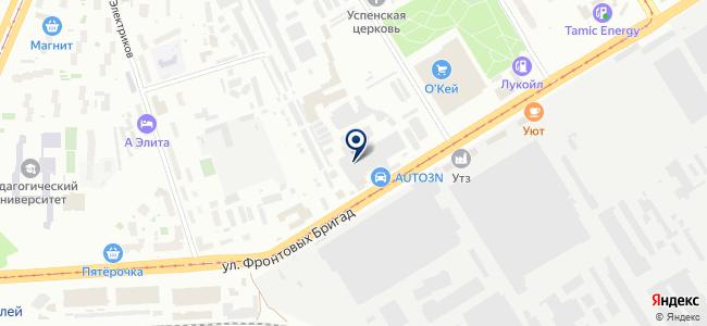 Автоматизированные Технологии-СВД, ООО на карте