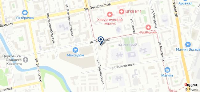 РСП-Урал на карте