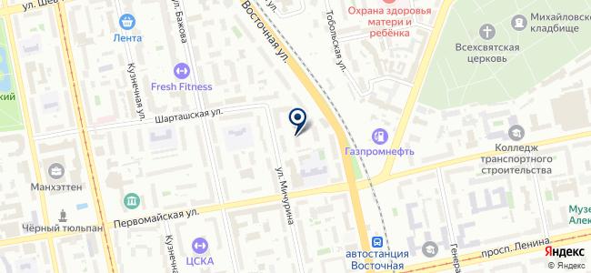 Энтальпия, ООО на карте