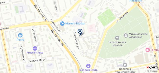 Содействие, ООО на карте